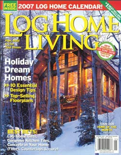 Log Home Living - January 2007