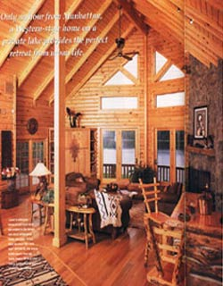 Country's Best Log Homes - March 2004