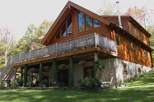 Alta Log Homes: Leed Certified Log Cabin Homes For Sale